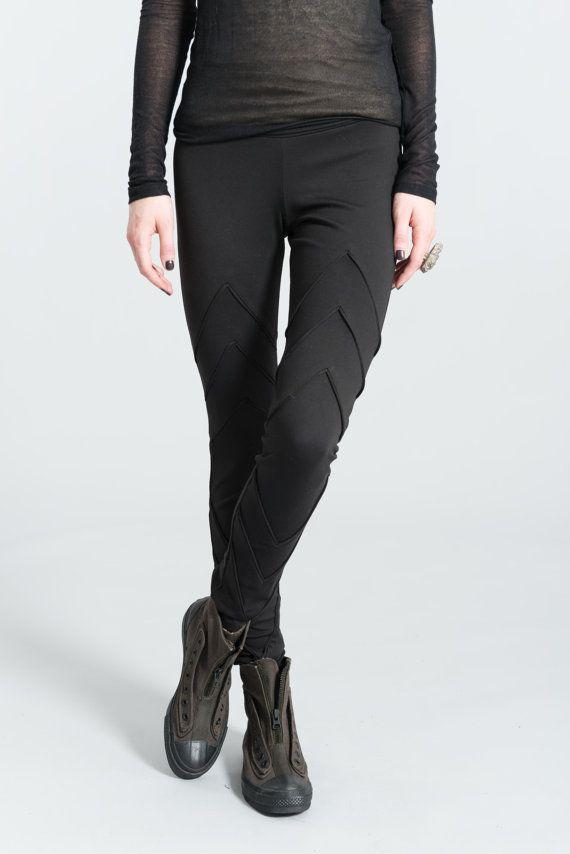 Designer Long Leggings / Womens Tights / by marcellamoda on Etsy