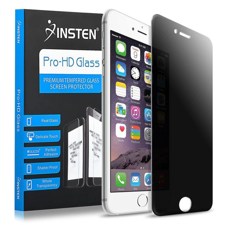 Insten Premium Anti-Spy Privacy Filter Tempered Glass Screen Protector for Apple iPhone 6 6s iPhone 6 Plus 6s Plus //Price: $0.00//     #Gadget