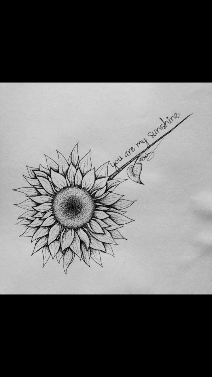 You are my sunshine. In memory of my grandmother