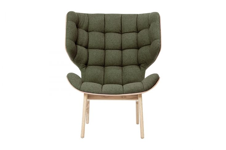 Mammoth Chair Fluffy Wool Forest