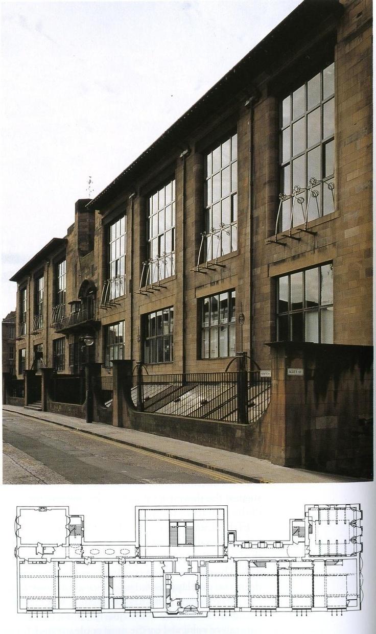 C.R Macintosh - Glasgown taidekoulu