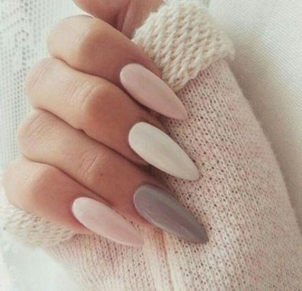 Super Nägel Acryl rosa und weiße lange Ideen
