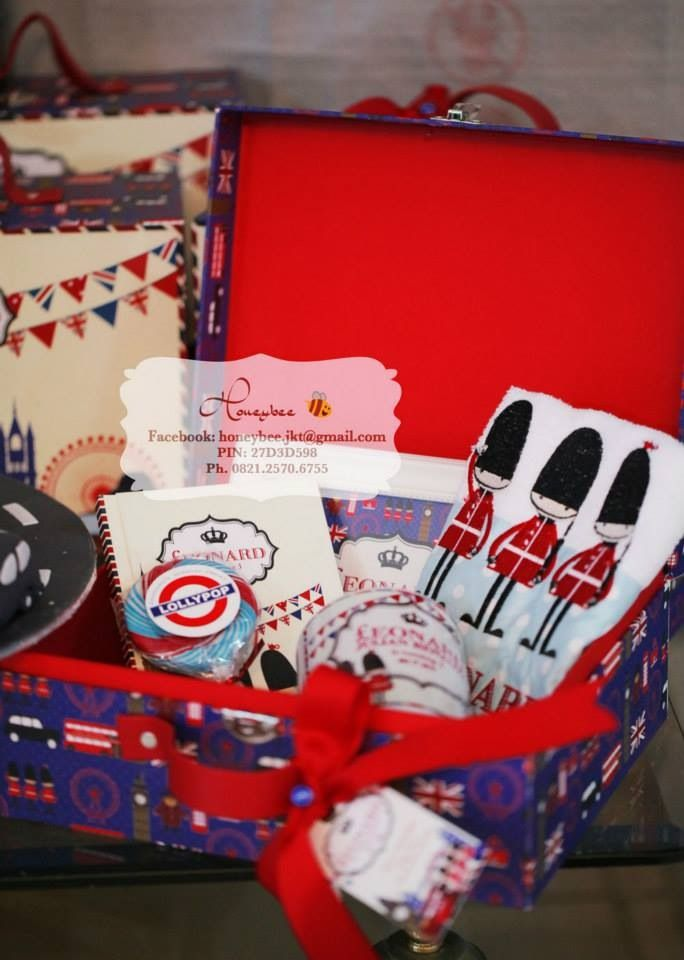 London Theme Goodie Bag Kids Hamper Baby Hamper Gift