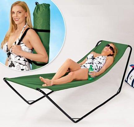 I think i need this Portable Hammock!!!