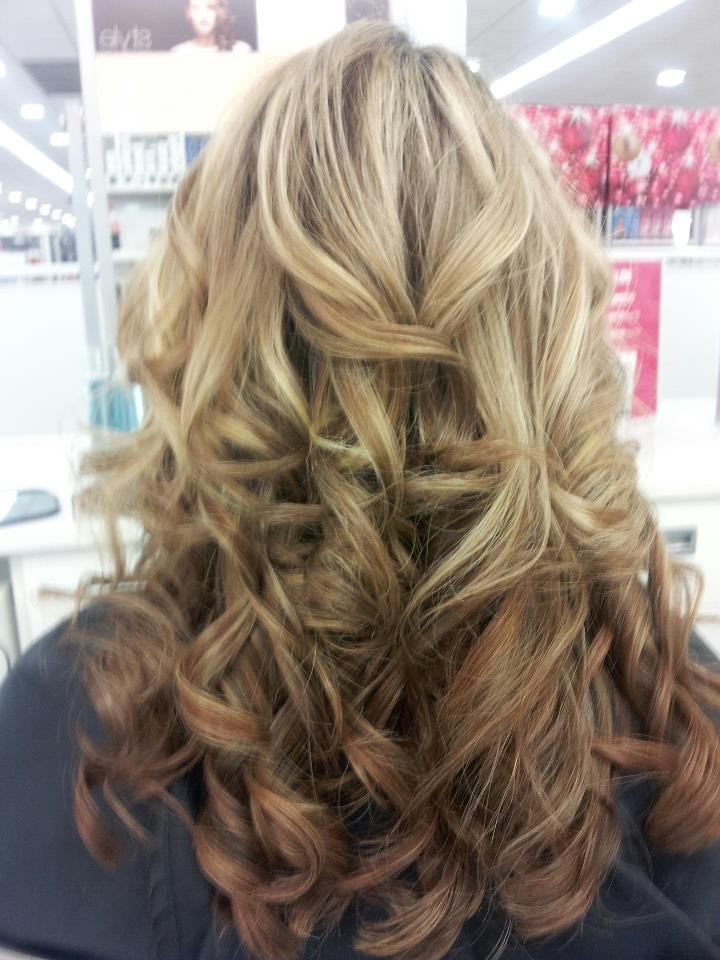 spiral curls hairstyles : Spiral curls with highlights by Ulta. hairstyles Pinterest