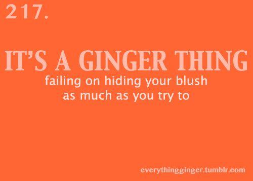 hate blushing!