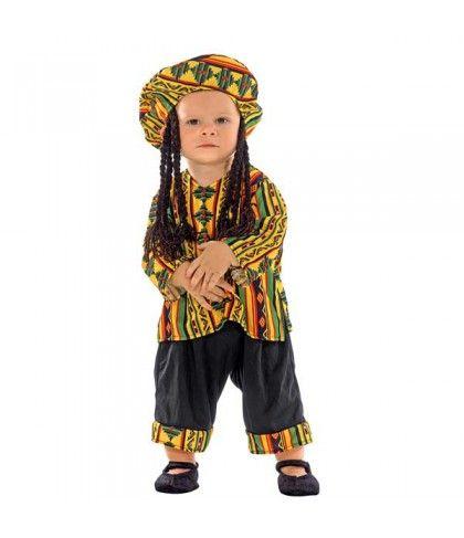 Ράστα Μαν μωρό στολή για μικρά αγόρια