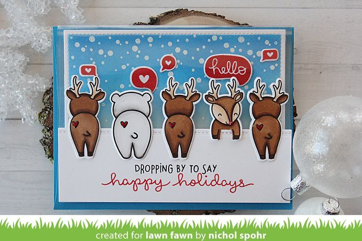 Nichol  is back today to share an absolutely adorable card featuring For You, Deer ! She's made a wonderful video tutorial to show how she ...