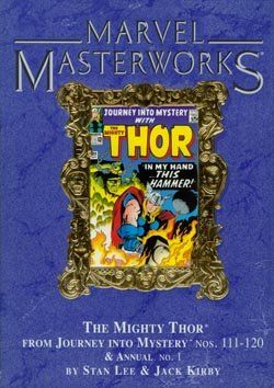 Marvel Masterworks Vol. 30: Thor (Reprints Journey Into Mystery #111-120 and Annual #1) @ niftywarehouse.com #NiftyWarehouse #Thor #Marvel #Avengers #TheAvengers #Comics #ComicBooks