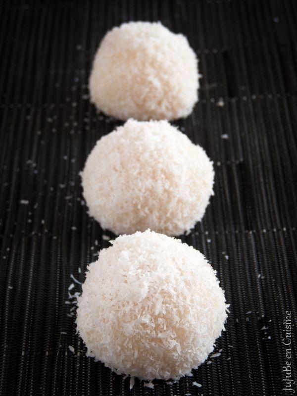 Boules coco (gourmandise asiatique - Vegan)