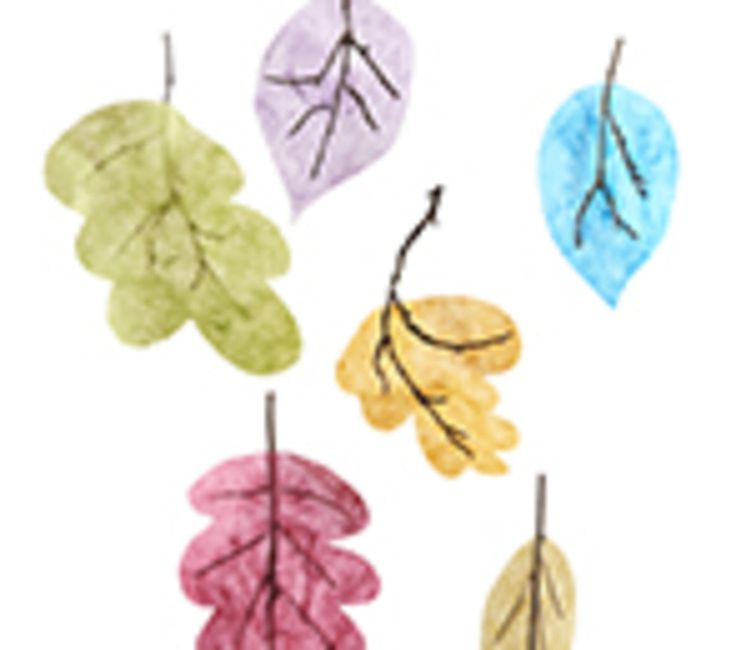 Löv av mullbärspapper - Lekolar Sverige