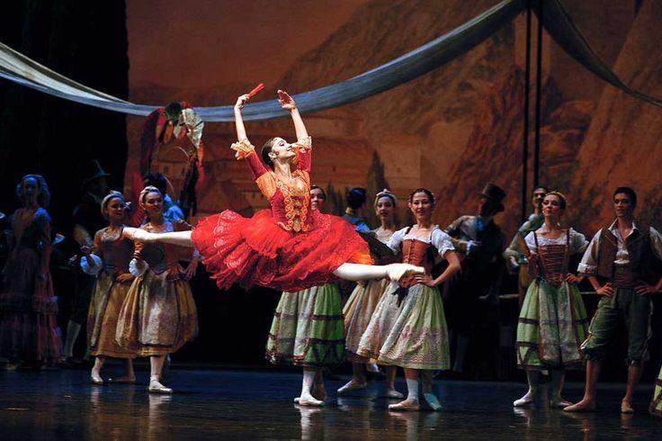 Dorothée Gilbert dans <i>Don Quichotte</i> de Rudolf Noureev. © Icare/Opéra National de Paris