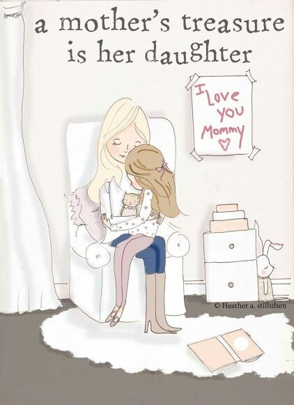 A mother's treasures are her forever babies!