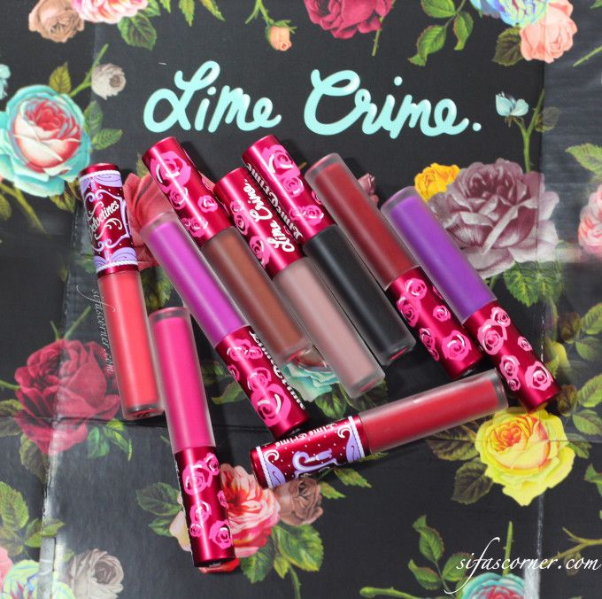 REVIEW: Lime Crime Velvetines