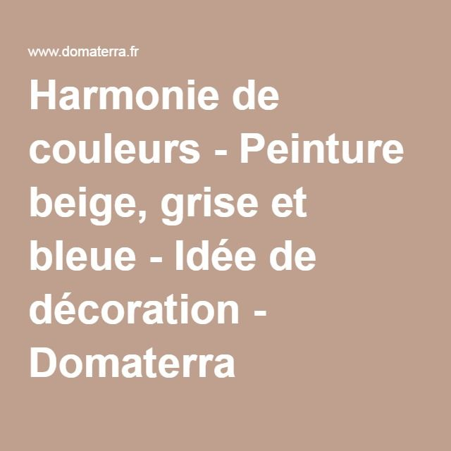 les 25 meilleures id es de la cat gorie peinture beige. Black Bedroom Furniture Sets. Home Design Ideas