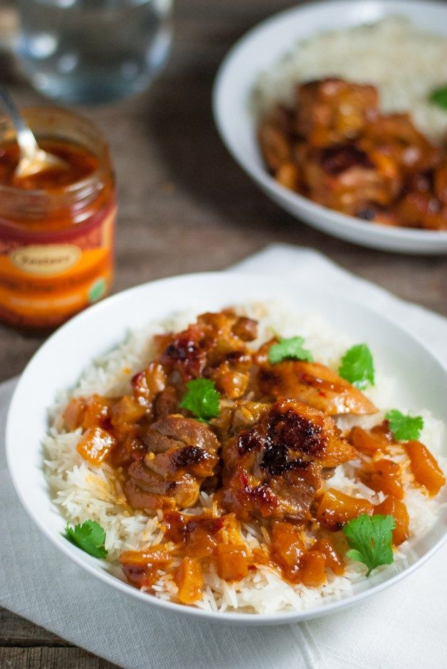 Mango Tango Mango Chutney Chicken   Two Ingredient Mango Chutney Chicken. Quick, easy, delicious.   www.whitbitskitchen.com