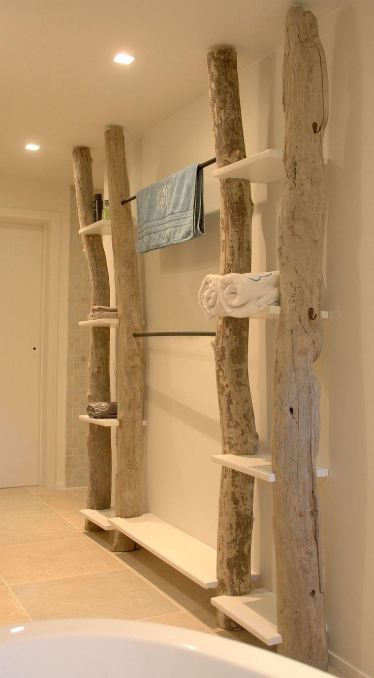 Etagère bois flotté