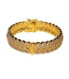 Buy Exquisite Paisley pattern studded Kada bangles-and-bracelet online