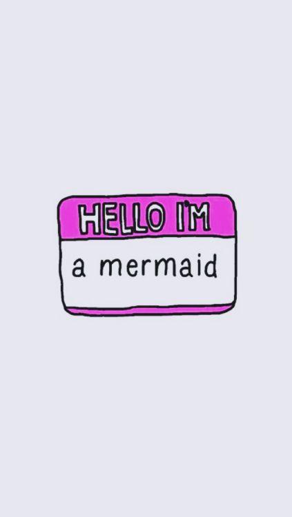 Olá eu sou uma sereia