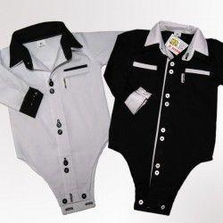 Body czarne i białe, koszule dla dzieci, ubranka dla dzieci u Grusi. Zajrzyjcie na http://grusie.com.pl