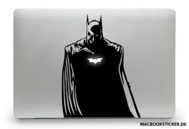 """Dieser Aufkleber / Sticker passt auf alle MacBooks und falls Ihr irgendwann keine Lust mehr auf """"The Dark Knight"""" hast kannst du diesen Macbook Sticker rückstandslos von deinem Rechner entfernen.   #macbooksticker #macbookdecal #macbookaufkleber #decal #sticker"""
