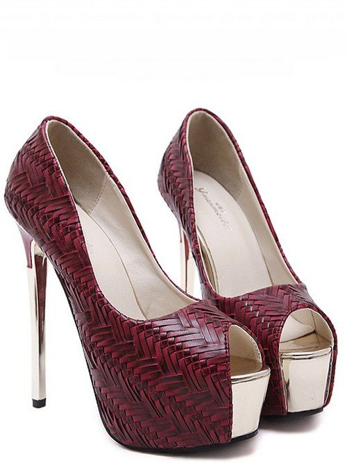Fashion Peep-toe Joker Lady Shoes(Size:34-40)_peep-toe shoes_WHOLESALE SHOES_Wholesale clothing, Wholesale Clothes Online From China
