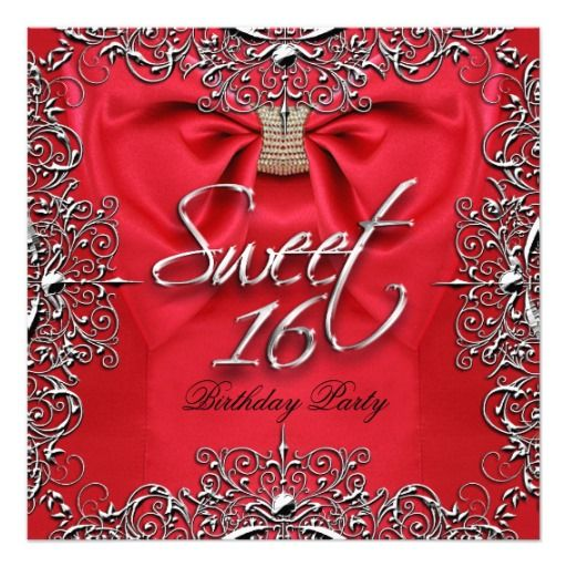 1000+ Images About Elegant 16th Birthday Party Invitations