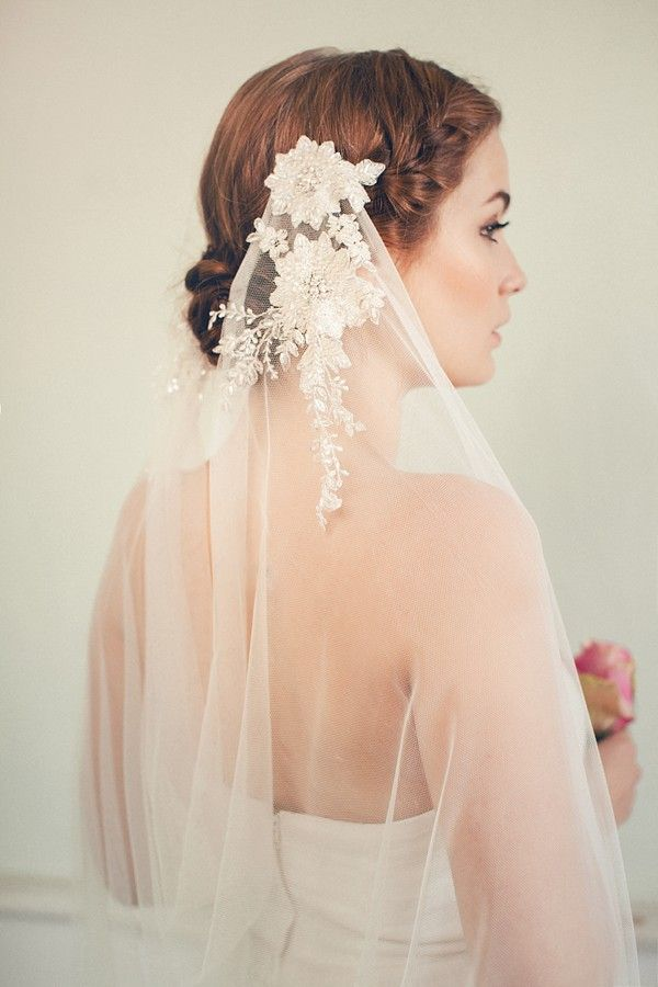Jannie Baltzer Bridal Headpieces 2015