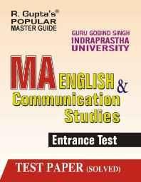 GGSIPU: MA English & Communication Studies Entrance Exam Guide (Popular Master Guide) Paperback ? 2012
