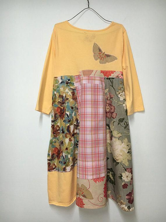 d4f5e63575 Plus Size Boho Dress Unique Tunic Plus Size Boho Gypsy
