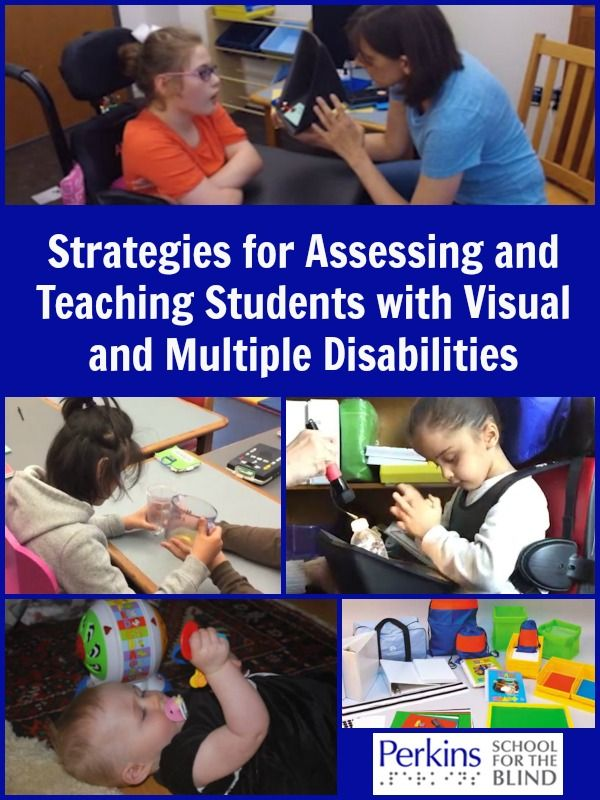 Video webcast on strategies for assessing and teaching students with visual and multiple disabilities