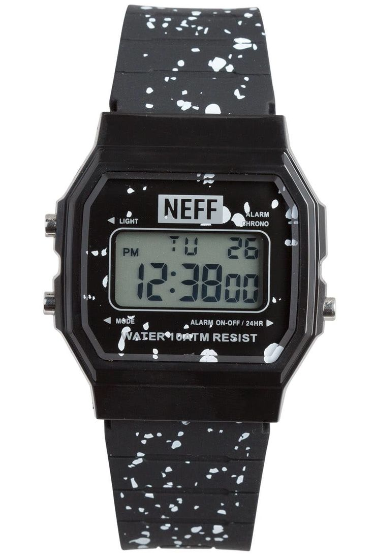 The surf watch that won't break the bank! Get yours in any of our rad colors today! Custom design watch with ABS Case and PU strap. Water resistant to 330 ft.The face of the Flava XL is 1 1/2 inch wide and 1 7/8 inch high. The watch is 10 1/8 inches long including the straps end to end.