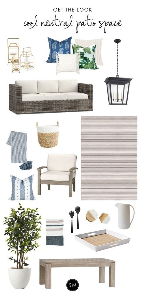 Create a cozy outdoor seating area for clients who love to   entertain! Studio McGee