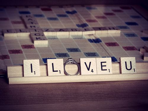 scrabble engagement ring: Proposal Ideas, Scrabble, Wedding Ideas, Proposals, Dream Wedding, Rings, Engagement Ring, Photo Idea