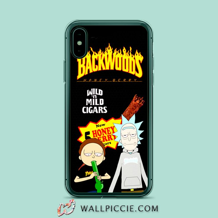 Rick morty backwoods thrasher iphone xr case iphone xs