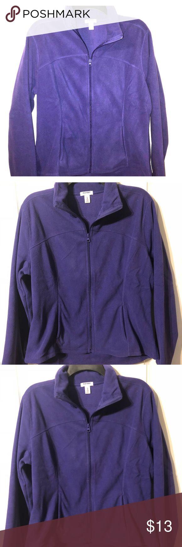 Old Navy Fleece Jacket Xl old navy fleece purple jacket nwt Old Navy Jackets & Coats