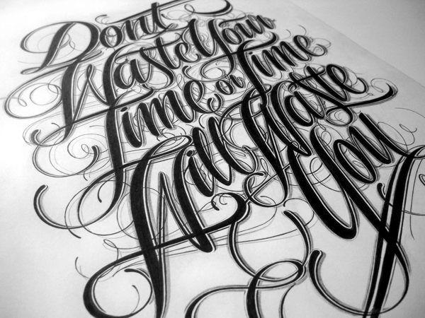 Hand Lettering by Mateusz Witczak, via Behance