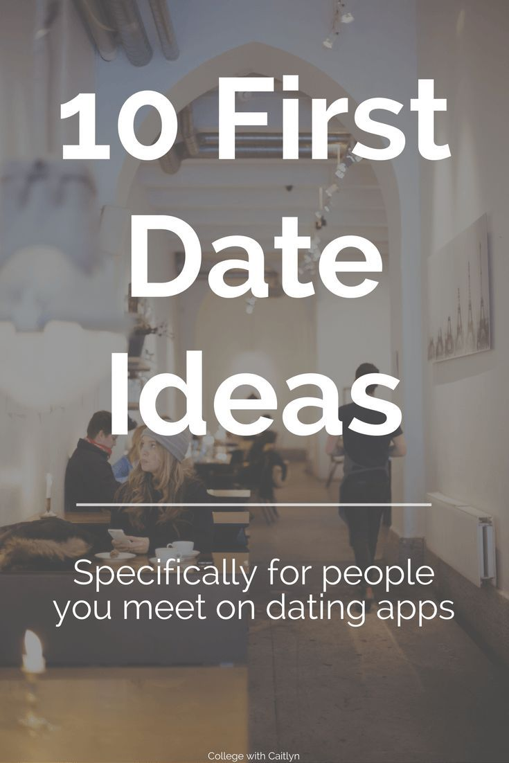 First date ideas for online daters