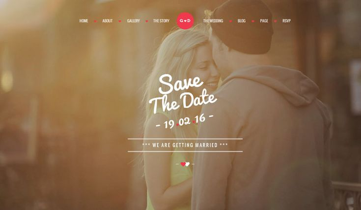 Free and premium responsive html5 wedding website templates for wedding page will be a nice basis for your wedding events, wedding gallery, wedding agency and other purpose of wedding site. …