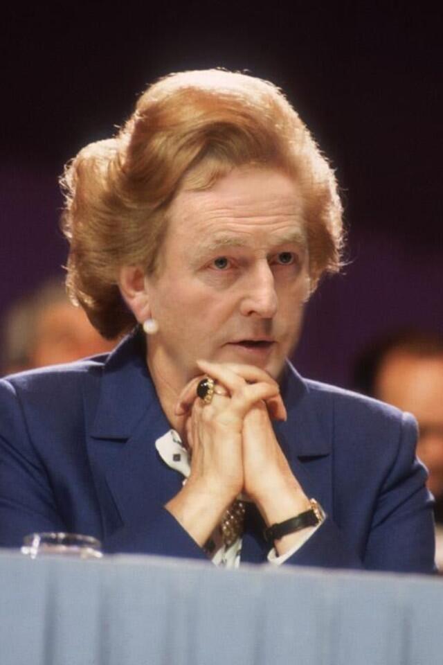 Enda Kenny Meets Margaret Thatcher - The Potato