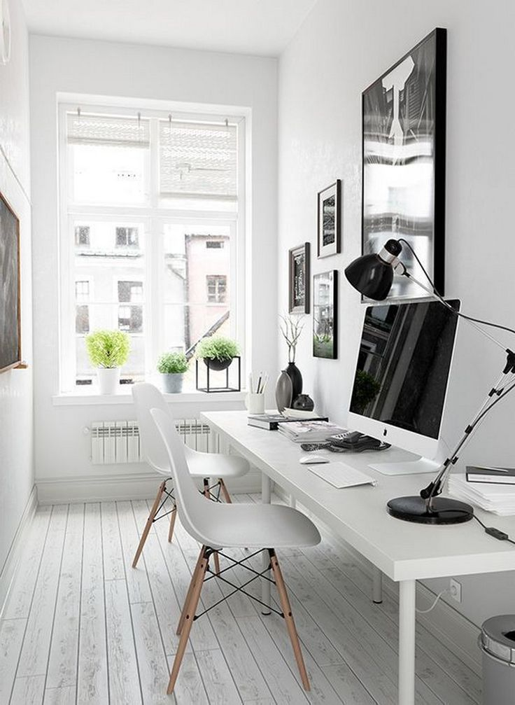 40 Modern Home Office Design Ideas For Small Apartment Small