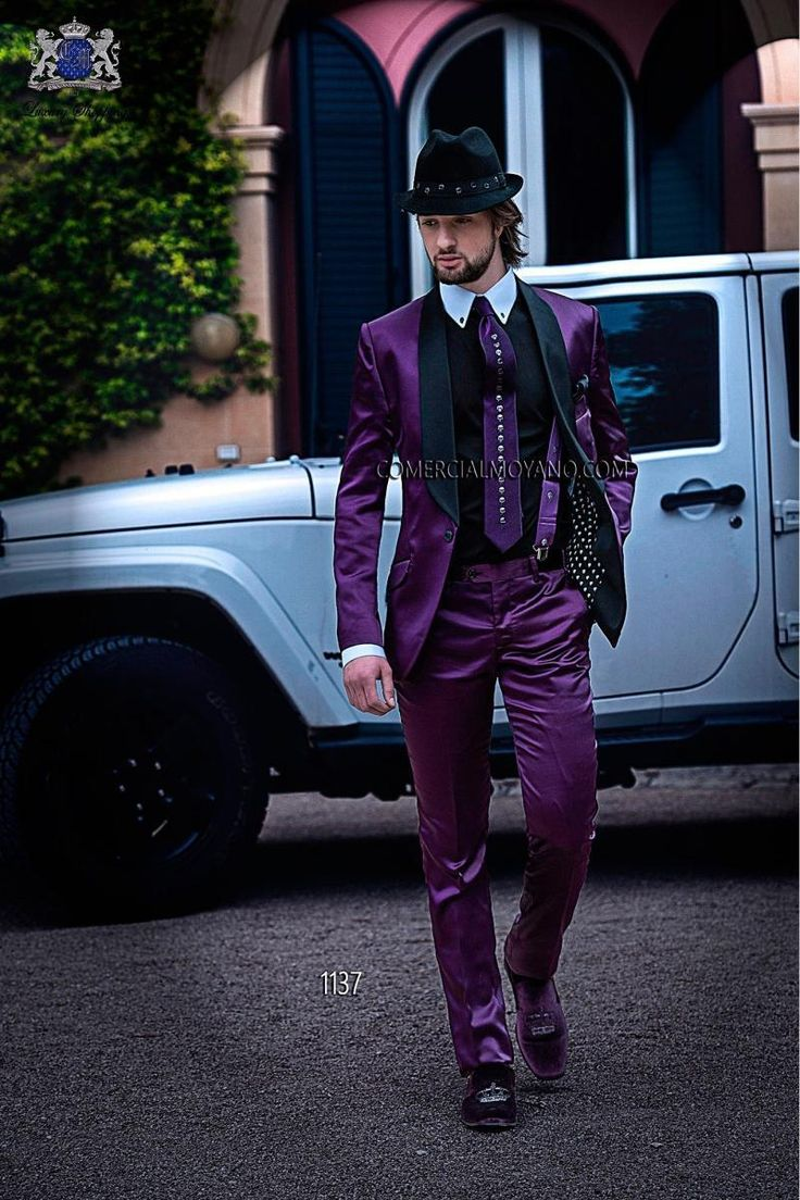 Cheap jacket wholesaler, Buy Quality pants leopard directly from China jacket trouser Suppliers: 2015 custom men wedding suit Purple Groom Tuxedos Mens Suit groomsmen Suit Jacket+Pants+TieColor  and