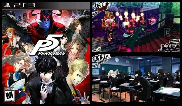#Persona 5 - #PlayStation 3 Standard Edition #Atlus #PS3 #game #enemies #anime #RPG #obstacles #thief #soundtrack #learn #challenging #action #amazon #ad http://amzn.to/2CCpF9Y