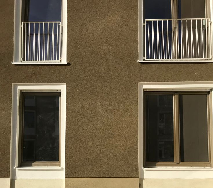 Kratzputz braun Fassaden Pinterest - air conditionne maison prix