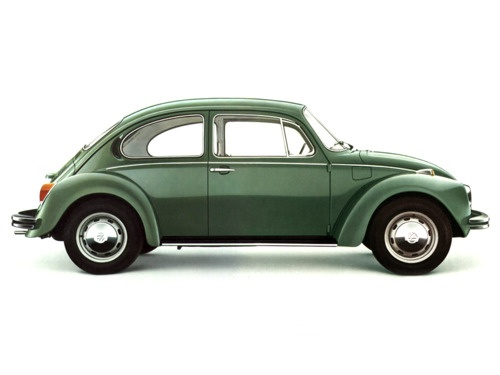 VW Super Beetle 1303, only built from 1972 to 1975. I had the 1973 in this color!!