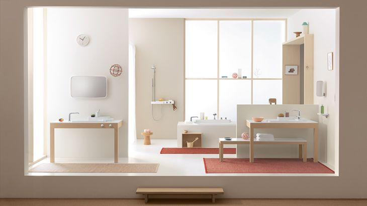 Axor Bouroullec is the collection that gives you greater freedom in the bathroom.