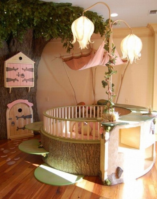 Fairy girl bedroom