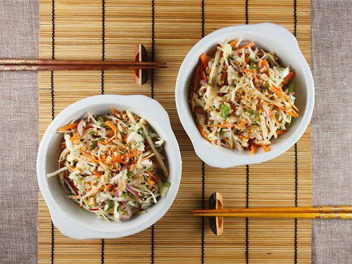 Asian Cole Slaw with Wasabi Dressing Recipe on Yummly. @yummly #recipe
