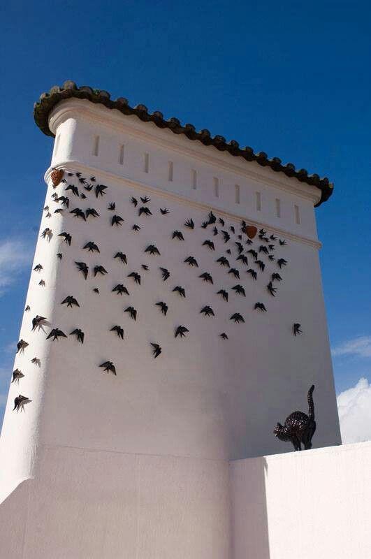 Lisbon City Museum. Art by Joana Vasconcelos and animals by Bordalo Pinheiro