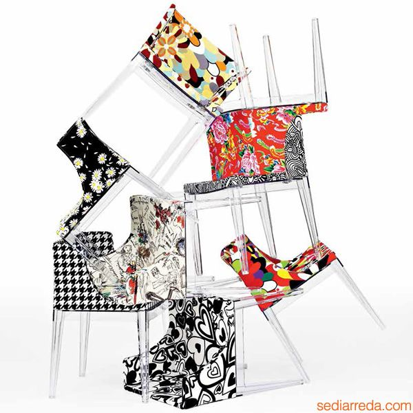 Philippe Starck S Missoni Fabric Mademoiselle Chair: 8 Best Images About Kartell Inspiration On Pinterest